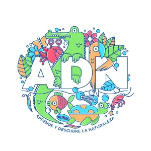 Logo de ADN Aprende y Descubre la Naturaleza