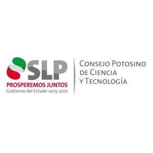 Logo de Consejo Potosino de Ciencia y Tecnología